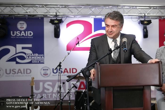 Карен Карапетян: Существует огромный потенциал для развития сотрудничества с США