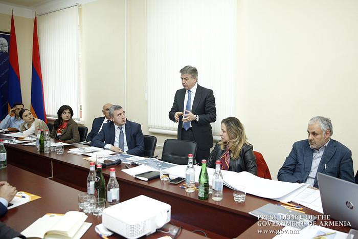 Карен Карапетян ознакомился с концепцией развития Ванадзора