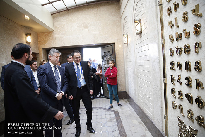 Карен Карапетян: Мы заинтересованы в участии армян Диаспоры в развитии Армении