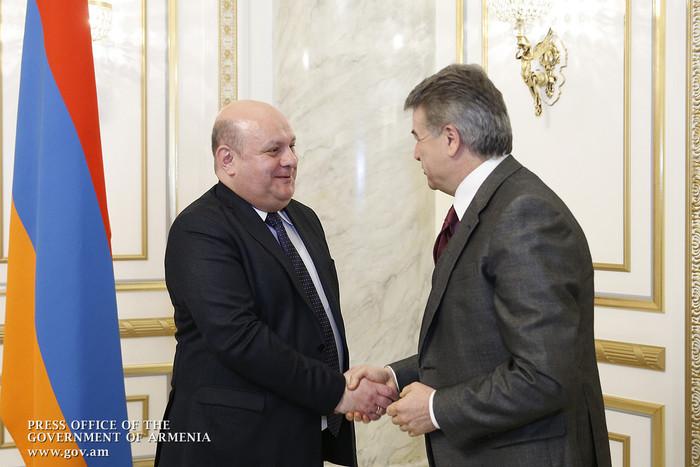 Карен Карапетян: Армяно-грузинские дружественные отношения динамично развиватся