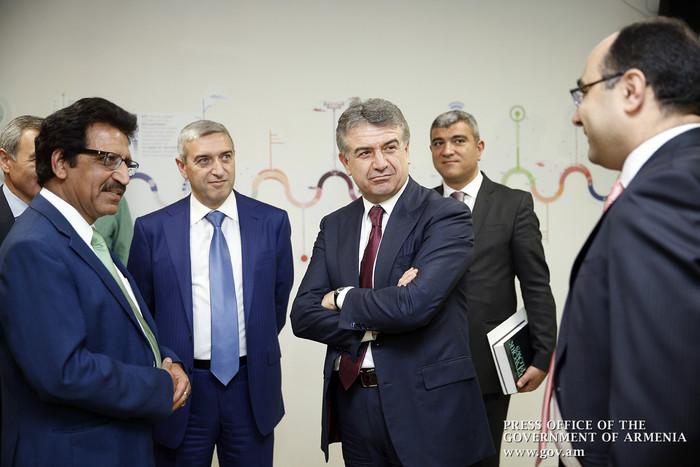 Карен Карапетян ознакомился с деятельностью компании, разрабатывающей программные решений в сфере транспорта
