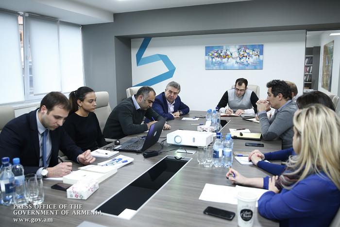 Центр стратегических инициатив отчитался перед премьером Армении Кареном Карапетяном