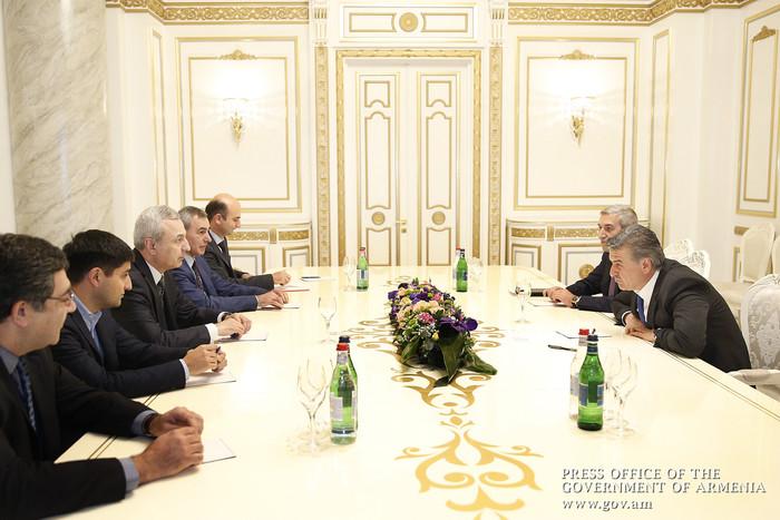 Карен Карапетян: IT-сфера является приоритетной для правительства Армении как ключевая отрасль экономики