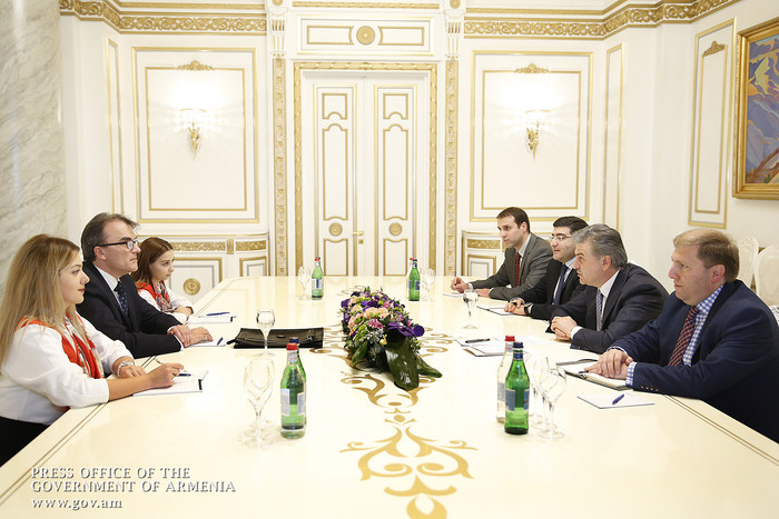 Премьер Армении заявил о важности привлечения белорусского капитала в свободную экономическую зону в Мегри