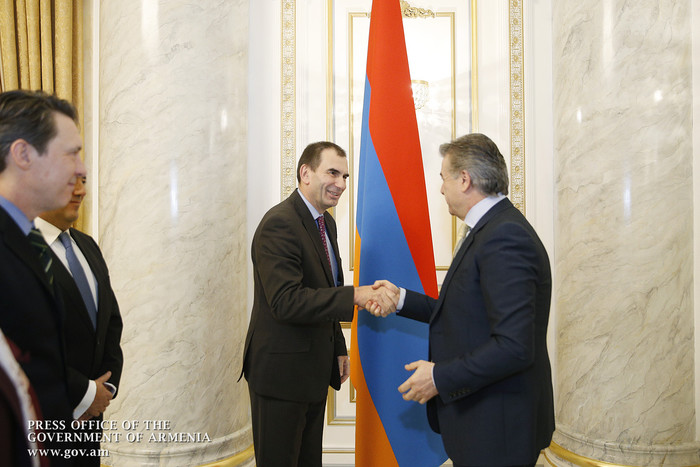 ЕБРР заинтересован в расширении дальнейшего сотрудничества с Арменией