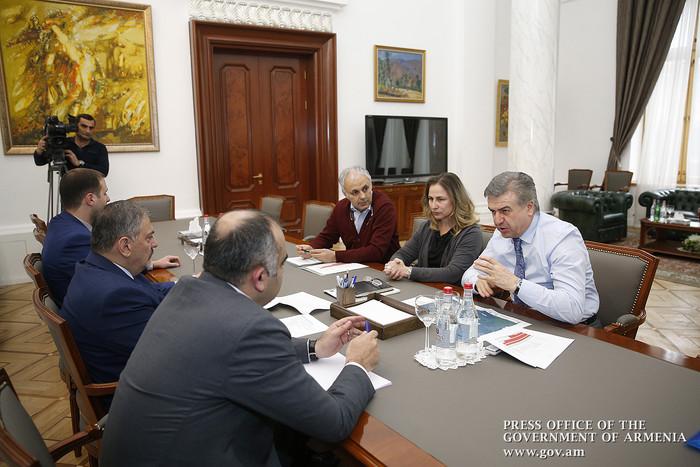 Карену Карапетяну представили мастер-план по развитию Ванадзора, разработанный экспертами из Палермо и Москвы