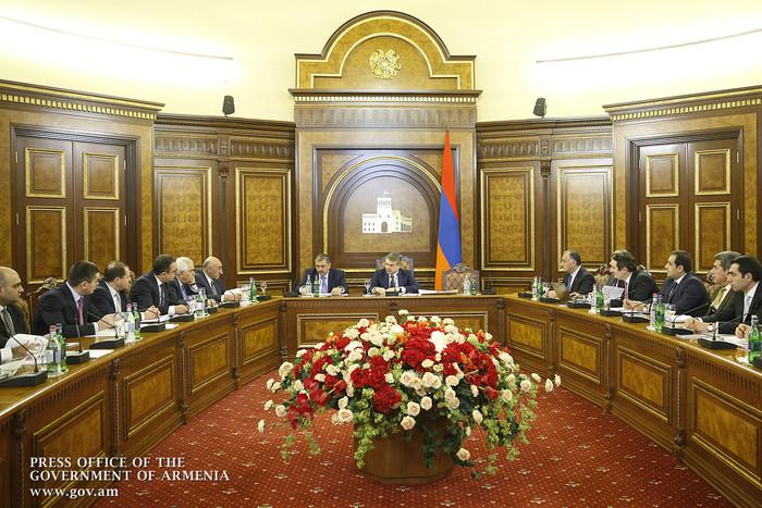 Doing Business: премьер Армении Карен Карапетян потребовал четкий график мероприятий по улучшению бизнес-среды