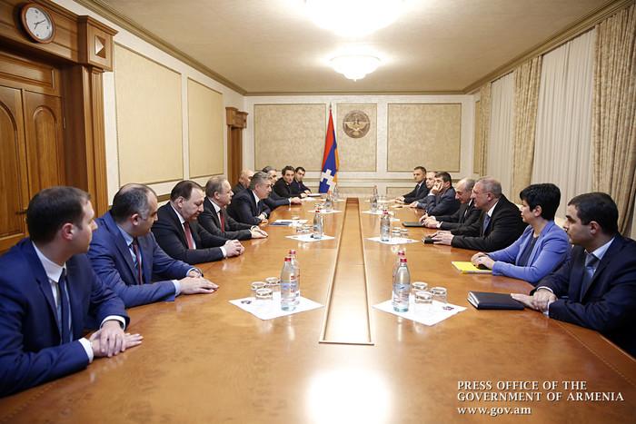 Премьер Армении на встрече с президентом Арцаха: У нас есть четкое представление, как мы должны развивать нашу экономику