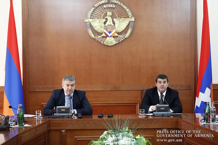 Госминистр Арцаха и премьер-министр Армении обсудили программы сотрудничества