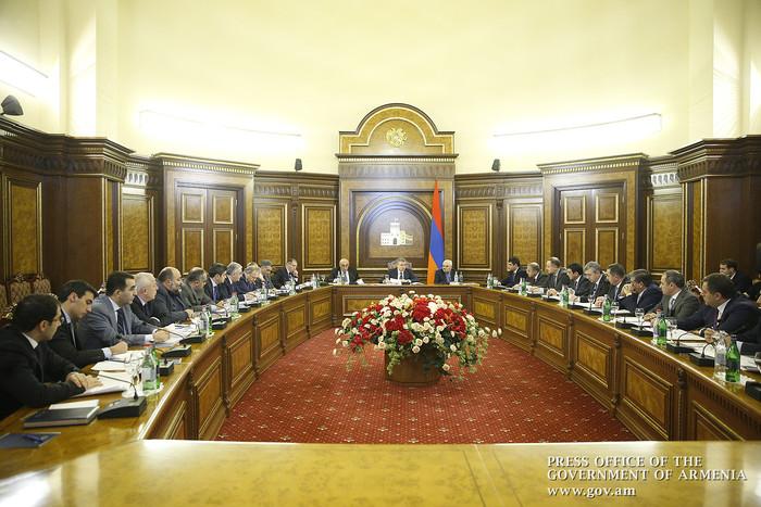 Карен Карапетян назвал конкретные пункты развития регионов в 2018г.