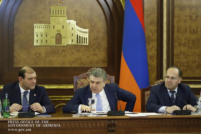В правительстве Армении обсуждены работы по подготовке мероприятий к 2800-летию основания Еревана