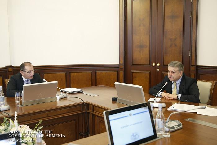 Карен Карапетян поручил Минфину известить общественность о перевыполнении бюджета