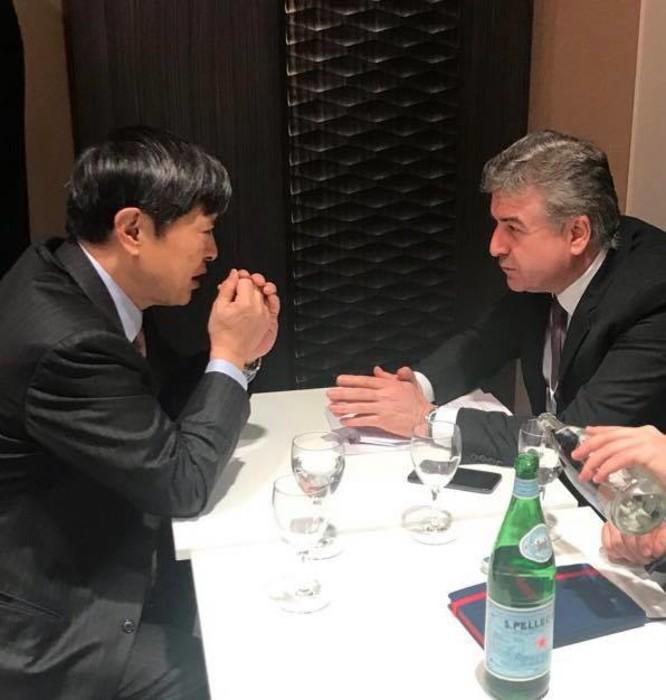 Карен Карапетян обсудил с главой Японского агентства международного сотрудничества возможности экспорта сельхозпродукции из Армении