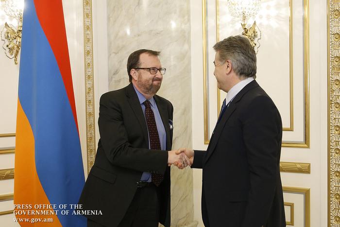 Посол Р. Миллс: США продолжат содействие осуществляемой правительством Армении амбициозной повестке реформ
