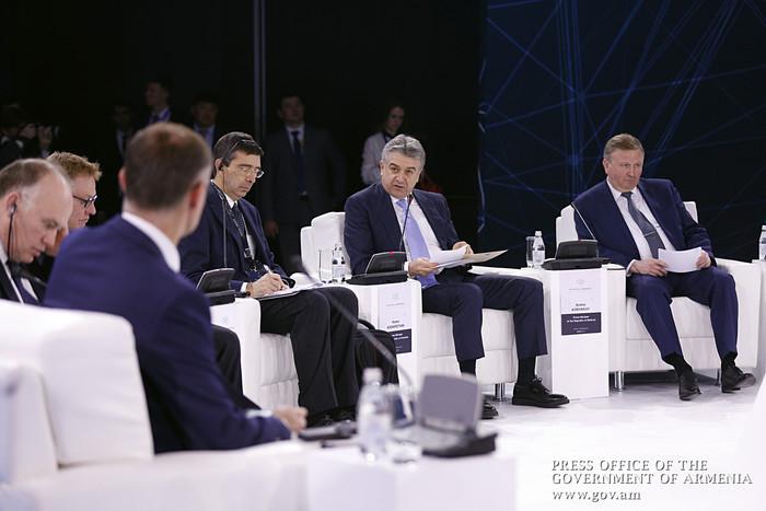 Карен Карапетян: В 2017 году Армения и Беларусь увеличили товарооборот на 20%