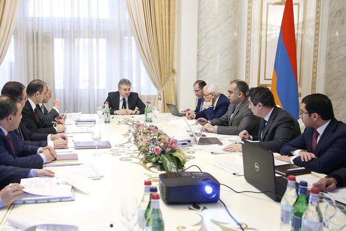 У премьер-министра обсудили «Стратегию развития Армении 2030»