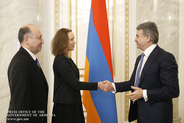 Премьер-министр Армении обсудил с послом Эстонии вопросы сотрудничества