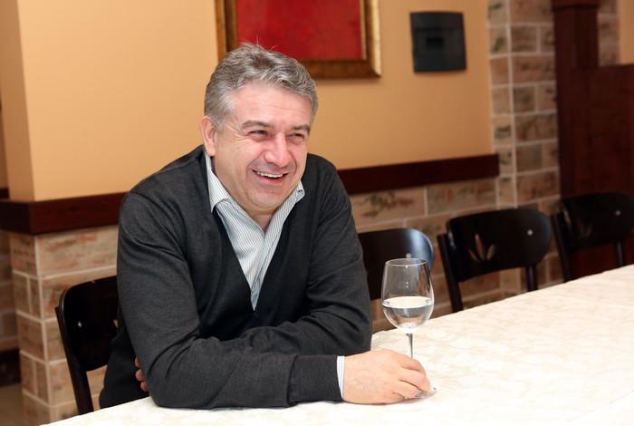 Карен Карапетян: Размер среднемесячной номинальной зарплаты в Армении увеличился