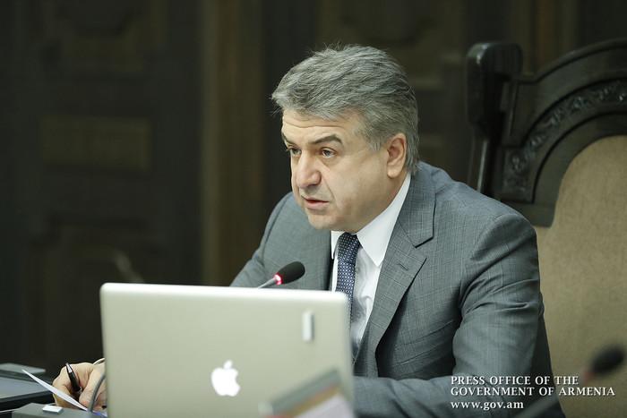 Премьер Армении рекомендовал ответственным сферы сельского хозяйства «держать руку на пульсе»