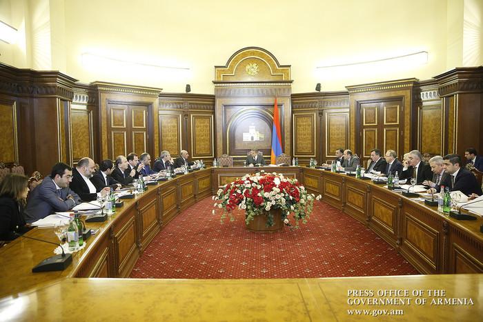 У премьера Армении Карена Карапетяна обсуждены вопросы развития сферы территориального управления
