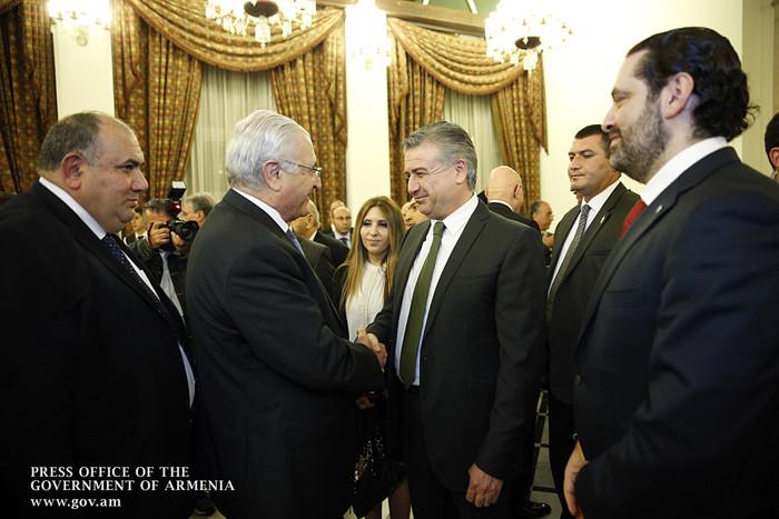 Карен Карапетян: Нужно развить экономическую составляющую в отношениях с Ливаном