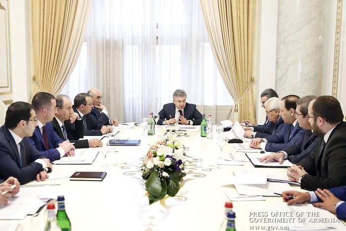 В Правительстве Армении обсудили вопросы развития национального парка «Севан»