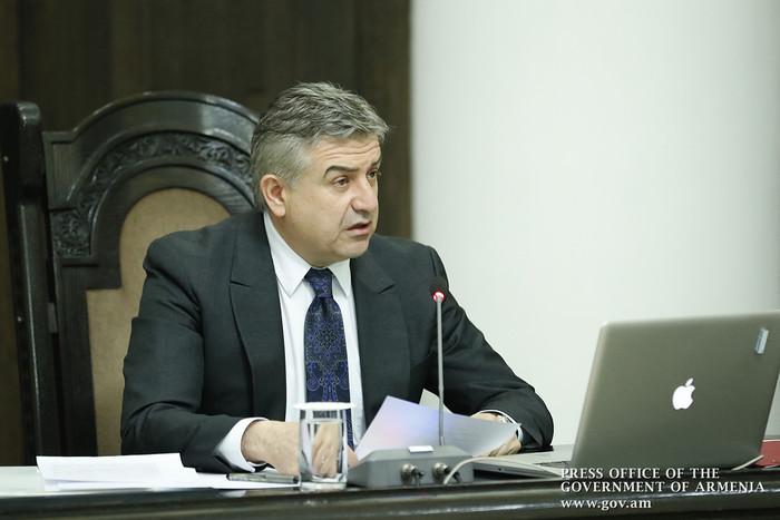 Карен Карапетян не против стать первым вице-премьером