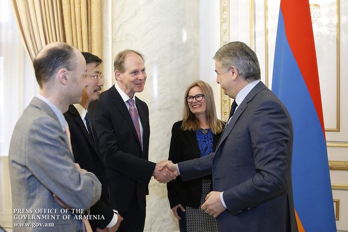 Карен Карапетян заявил о важности углубления и расширения двустороннего сотрудничества с Всемирным банком