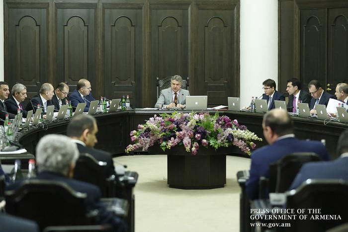 Правительство Армении направило на ратификацию соглашение с Евросоюзом