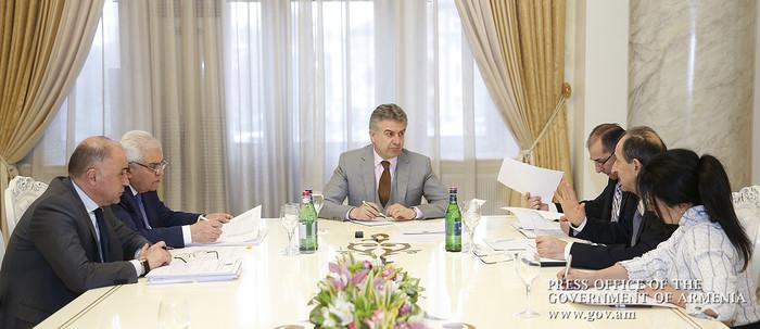 В правительстве Армении обсужден новый порядок учета строительных работ по действующим ценам