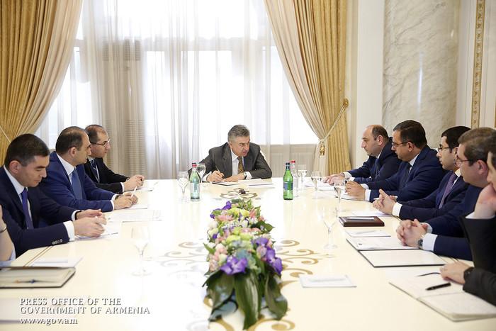 Карен Карапетян поручил отрегулировать процесс отсрочки платежей НДС в Армении