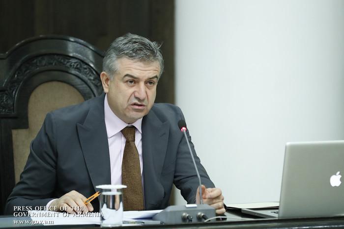 Карен Карапетян уволил своих помощников и советников