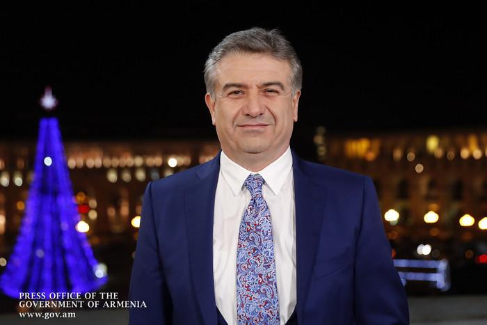 Новогоднее обращение Премьер-министра РА Карена Карапетяна
